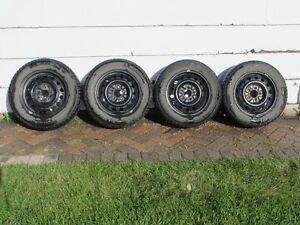 4 - Winter Tires and Rims Michelin X - Ice 2 91T -  195/65R15 Regina Regina Area image 1