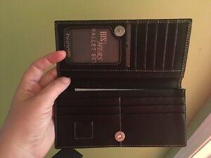 Leather Bugatti wallet