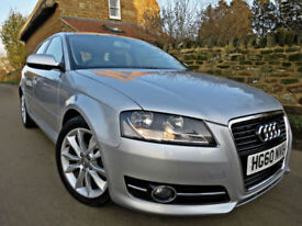 2011 AUDI A3 2.0 TDI SPORT SPORTBACK 140PS. 5 DOOR. CAMBELT REPLACED !!