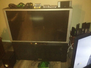 "51"" rear projection tv"