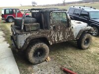 Jeep TJ parts for Sale and complete projects jeeps