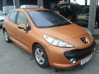 Peugeot 207 Sport 2007 1.4 Petrol Manual LOW MILEAGE