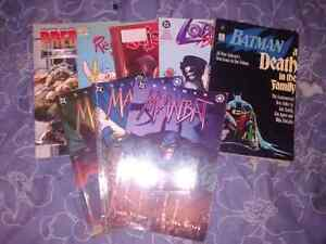 Comics and magazines