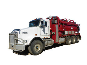 2009 KENWORTH T800 Tri Drive Vacuum Truck Cash/ trade/ lease to