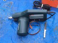 Black and decker electric sander.