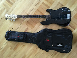 Squire P Bass with Amp