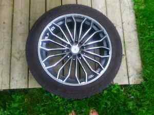 19inch Zumbo Z63 Black and Chrome rims for sale