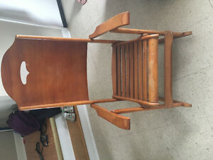 Old clement 418 folding rocking chair