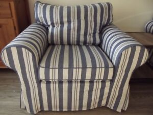 SLIPCOVERS for Ikea Ektorp Armchair - Two Chair Covers