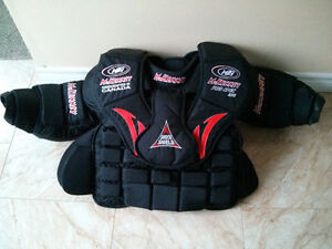 Junior goalie chest protector
