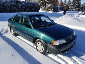 1999 TOYOTA TERCEL, EXCELLENT SHAPE, NEW SAFETY, NEW BRAKES!