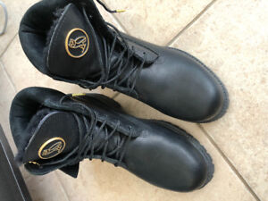 OVO X Timberland Boots. Black. 7.5 As New!