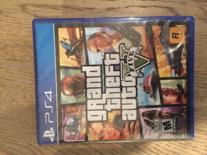 Brand new GRAND THEFT AUTO Game PS4