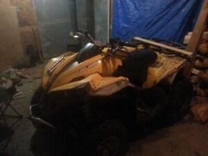 2011 Can Am Rene 800/ Trade for utility ATV