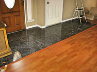 CERAMIC TILE, WOOD & LAMINATE FLOORING SPEALIST 30+ yrs. EXP.
