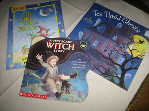 THREE SPOOKY HALLOWE'EN STORY BOOKS for KIDS