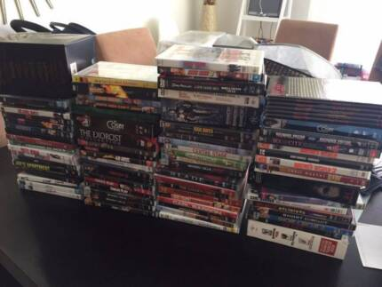 65 DVD and 11 DVD Box Sets Comedy Horror Action Thriller TV Kids
