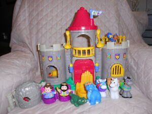 Little People Castle Toys