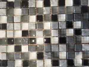 Glass and Stone tiles. 30 square feet