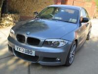 BMW 118 2.0 D Sport Plus Edition. 2013 Registered 1 Previous Keeper FSH 63K !