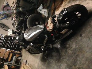 Motorcycle Custom Bobber Project
