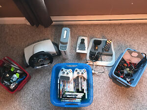 XBox 360 and tons of accessories and games!