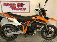 2020 SINNIS APACHE 125cc SMR Supermoto Orange Finance Available