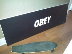 OBEY canvas 6 foot long