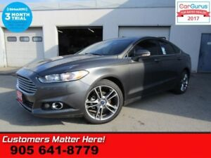 2015 Ford Fusion Titanium  AWD NAV LEATHER ROOF COOLED-SEATS CAM