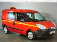 2015 Vauxhall Combo 1.3CDTi 16v ( 90PS ) L1H1 5 Seats Glazed Van 2300 Crew