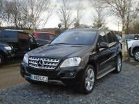 2010 60 Reg Mercedes-Benz ML350 3.0CDI Blue F Auto Sport