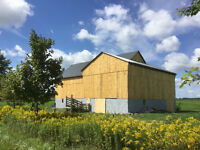 BARN PAINTING,REPAIRS AND STEEL ROOFING