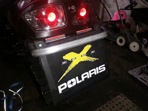Polaris snow flap
