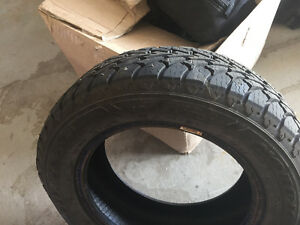 Two 14 inch studded tires