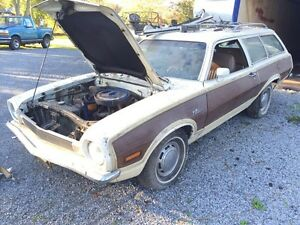 **1972 FORD PINTO SQUIRE 2 DOOR WAGON