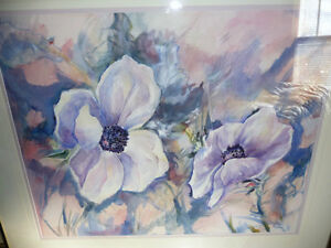 "Floral, Still Life, Original Watercolor by Gina Boyle ""Poppies"" Stratford Kitchener Area image 2"