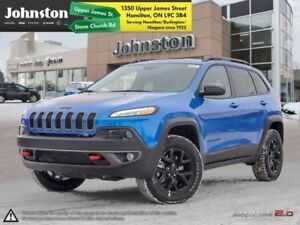 2018 Jeep Cherokee Trailhawk 4x4  - Leather Seats  - $101.40 /Wk