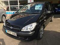 2007 HYUNDAI GETZ 1.1 GSI From GBP2650+Retail package.