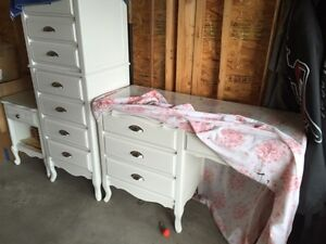 French colonial littles girls 3 piece refinished