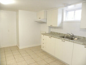 1 BDRM BASEMENT APARTMENT - FULLY RENOVATED