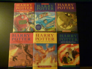 Harry Potter First Six Books Hardcover