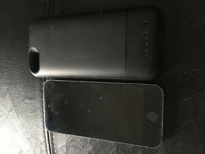 iPhone 5s 16gb with battery pack case