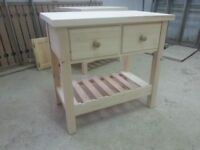 Solid Pine Butchers Block Can make to size
