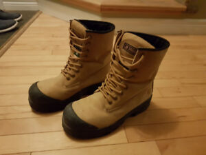 Safety Steel toe Boots (10.5) Almost like new