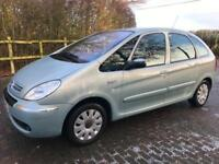 CITROEN XSARA PICASSO EXCLUSIVE 1.6 PETROL AIR CONDITIONING CAMBELT CHANGED