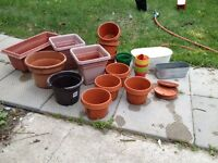 Garden pots and containers
