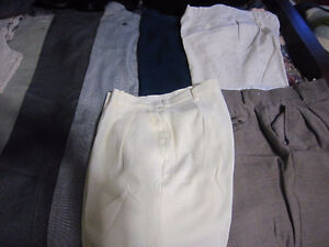 dress pants 32 1/2 waist X 28 inseam (they were altered) London Ontario image 2