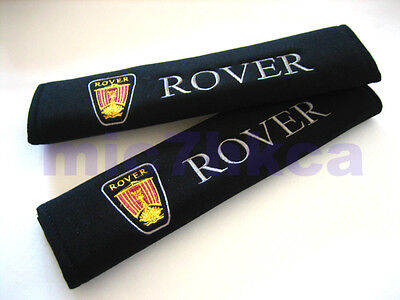 2x soft car seat belt harness cushion shoulder cover pads for ROVER (UK stock)
