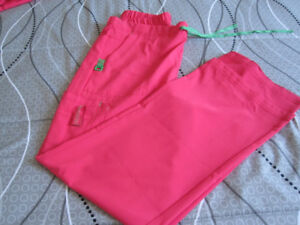 Scrub Set = Top Small, Bottom Medium -  like new!