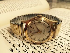 Reduced - Vintage 1960's Montfort Swiss Mens Watch